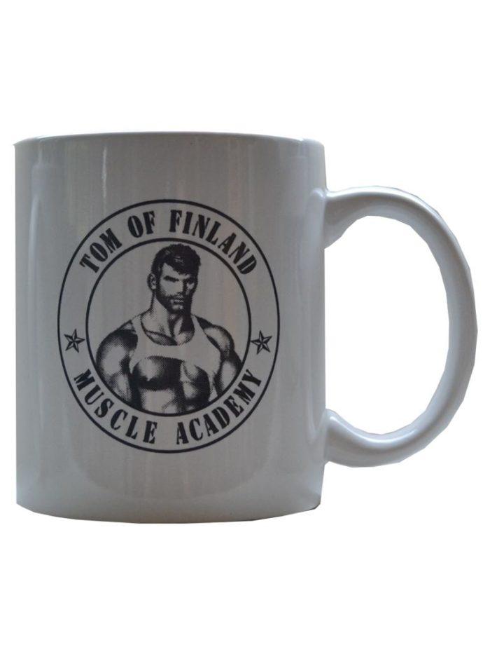 Tom of Finland Muscle Academy Coffee Mug