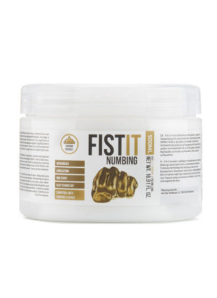 Fist It Numbing Waterbased Fisting Lubricant 500 ml