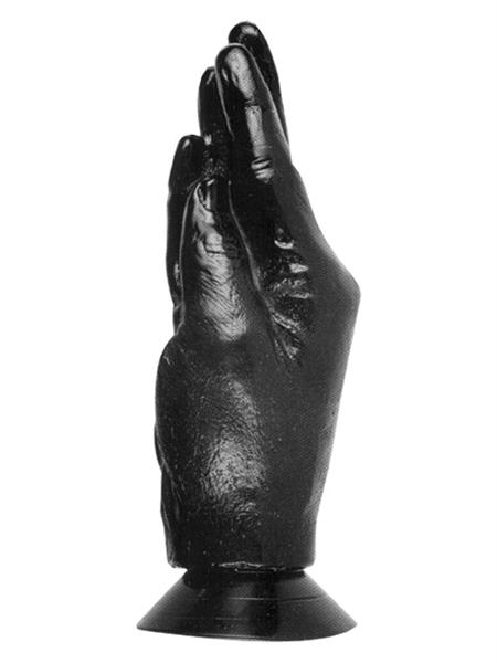 All Black Otto Butt Plug 185 x 70 mm