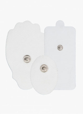 Electroshock Replacement Pads White