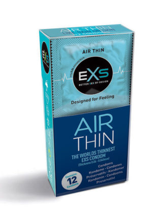 EXS Air Thin Condoms 195 x 56 mm 12 Pack