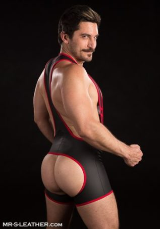 Mr. S FuckGear Open Ass Singlet White Extra large