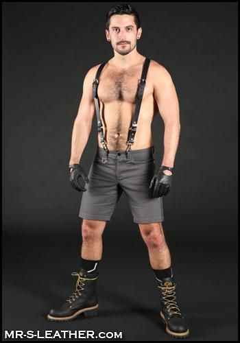 Mr. S Leather Patrol Glove Size 8