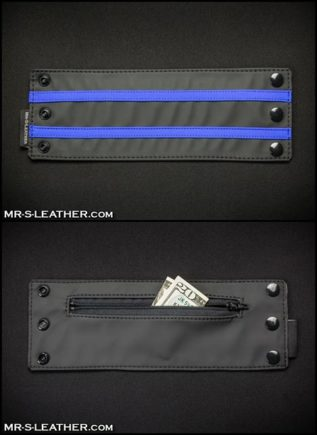 Mr. S FuckGear Wrist Wallet Blue Small