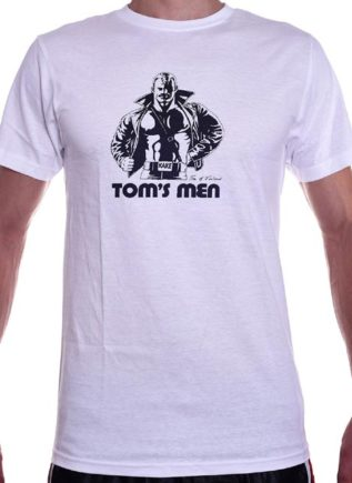 Tom of Finland Kake T-Shirt White Medium