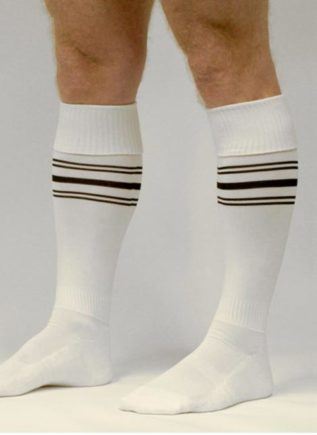 Fetish Gear Sport Socks White