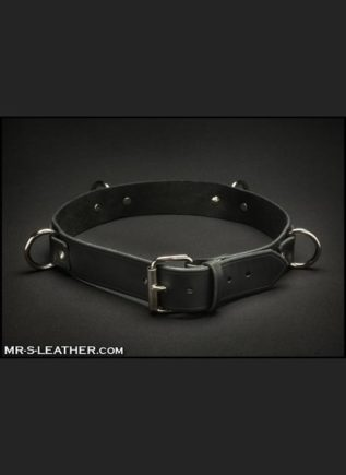 Mr. S Leather Bondage Belt Black Small