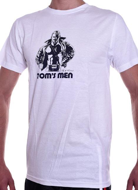Tom of Finland Kake T-Shirt White Medium