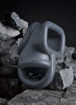 Boners Liquid Silicone Ball Splitter Grey