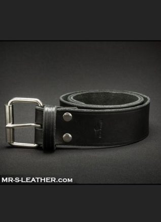 "Mr. S Wide Leather Belt 28 - 29"" (71 cm - 73,5 cm)"