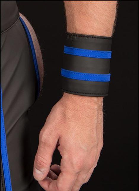 Mr. S FuckGear Wrist Wallet Blue Small