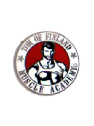 Tom of Finland Enamel Pin Muscle Academy