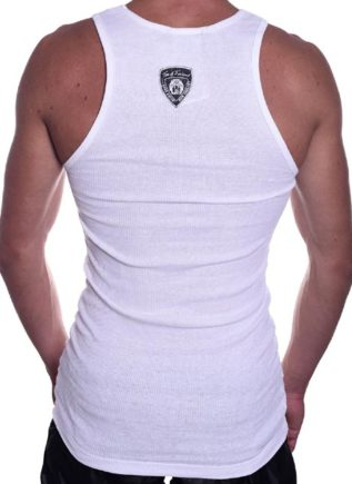 Tom of Finland Motorcycle Tank Top White Medium