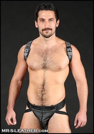 Mr. S Leather Cadet Shoulder Harness Yellow Large / Extra large