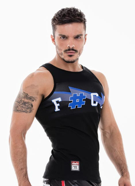 #DoIT! F#CK Tank Blue Small