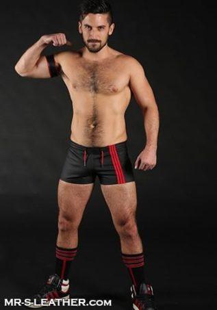 Mr. S FuckGear Sport Short Black Large