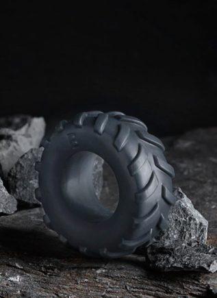 Boners TPE Tire Cock Ring Grey