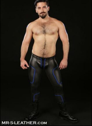 Mr. S Neoprene Cyber Pant Black Large