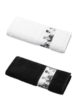 Tom of Finland Hand Towel Fellows Black 50 x 80 cm
