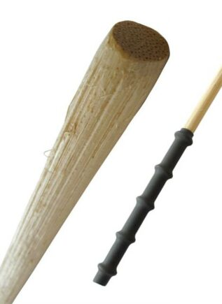 Manilla Skinned Cane with Rubber Grip