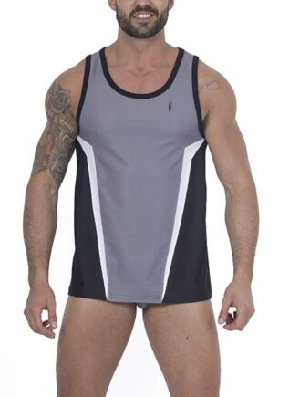 Leader Contour Sports Vest Grey Small