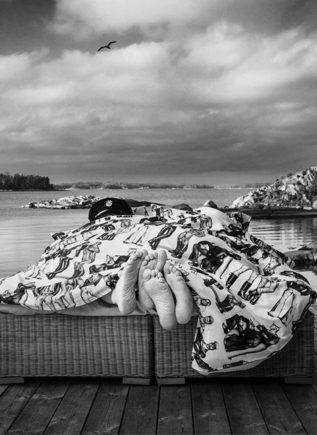 Tom of Finland Satin Duvet Covers Fellows 150 x 210 cm