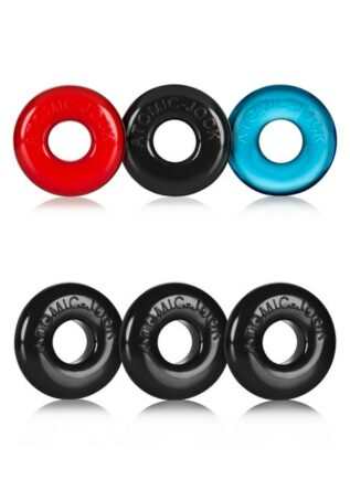 Oxballs Ringer 3-Pack Cockring TPR Black