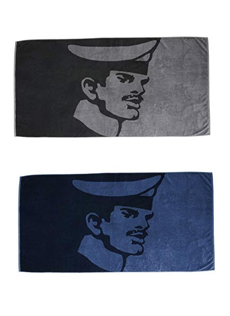 Tom of Finland Bath Towel Seaman Blue 90 x 180 cm
