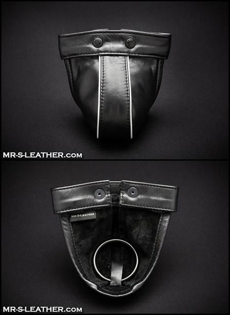 Mr. S Leather Nxt-2-Naked Harness Pouch Black Standard