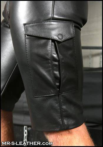 Mr. S Carpenter Cargo Shorts Black 36