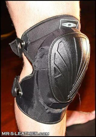 Mr. S Deluxe Tactical Kneepads Black