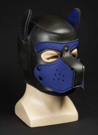 Mr. S Neoprene Puppy Hood Navy Large