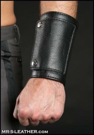 Mr. S Leather Heavy Duty Wrist Cuff & Wallet Medium