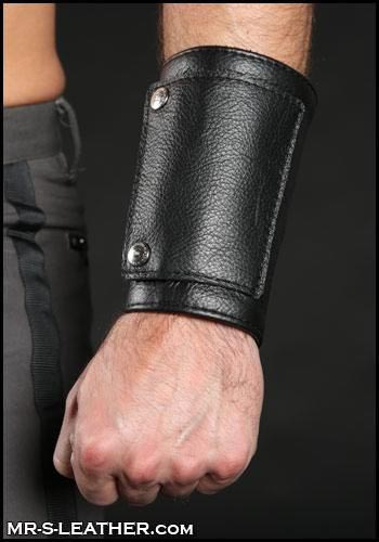 Mr. S Leather Heavy Duty Wrist Cuff & Wallet Medium