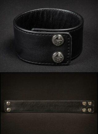 """Mr. S Leather Bicepband 1.75"""" Black Extra large"""