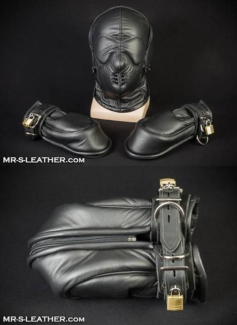 Mr. S Leather Scream Hood Large