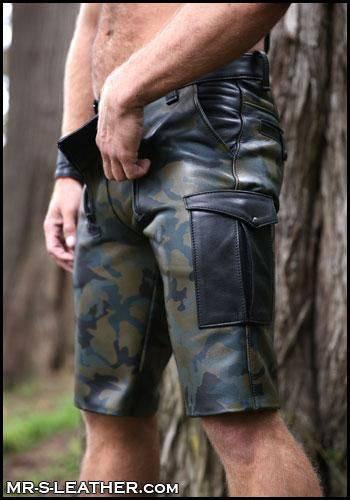 Mr. S Carpenter Cargo Shorts Camo 31