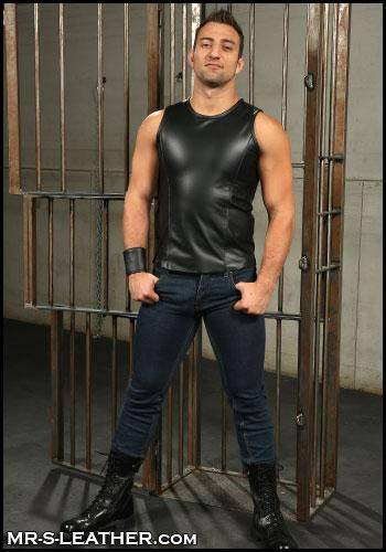 Mr. S Leather Sport Tank Small
