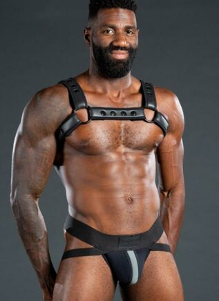 Mr. S Neo Air Mesh Jock Black / Grey Medium