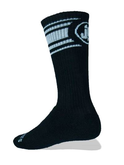 Jockfighters Striped logo socks yellow one size