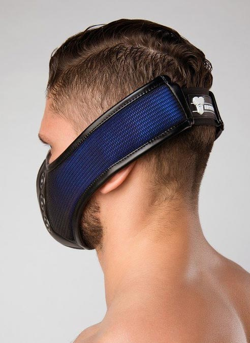 Maskulo 3D Mesh Mask Blue