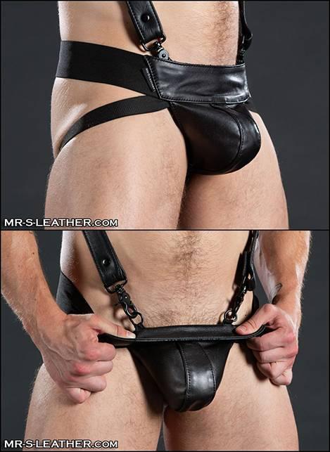 Mr. S Leather Traditional Jockstrap Black Medium