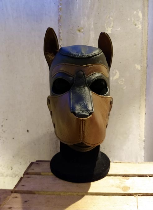 Mr. S Leather Puppy Hood Tan Extra large