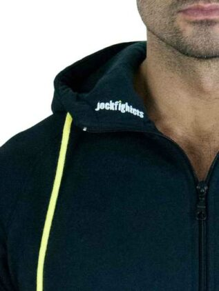 Jockfighters Hoodie sweat jacket black large