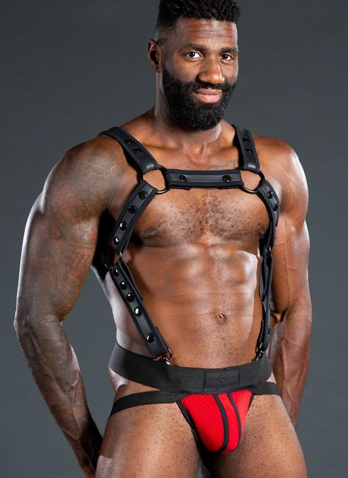 Mr. S Neo Air Mesh Jock Red Medium
