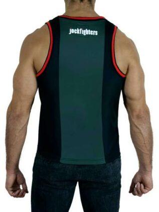 Jockfighters Double fabric tank top black/yellow large