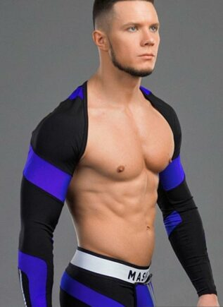 Maskulo Sport Sleeves Blue Large