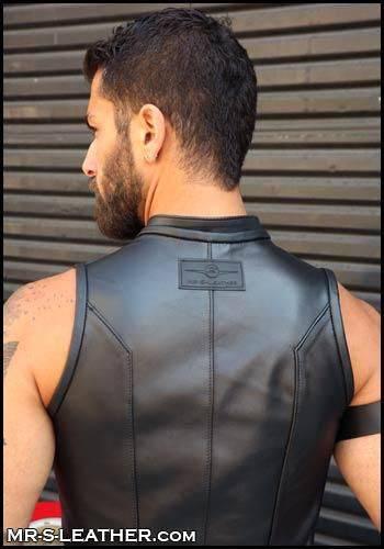 Mr. S Leather Avenger Vest Black Medium