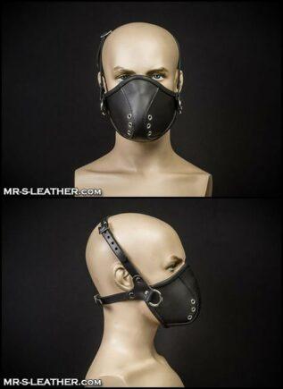 Mr. S Leather Mercenary Muzzle Black