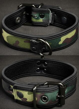 Mr. S Neoprene Puppy Collar Camo Large/Extra large